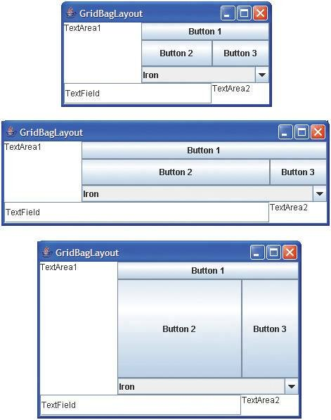 Java Swing: how to make scrollable view of items that may have buttons  inside of them? - Stack Overflow