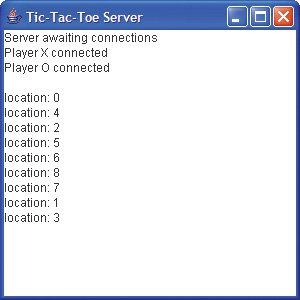 Client/Server Tic-Tac-Toe Using a Multithreaded Server