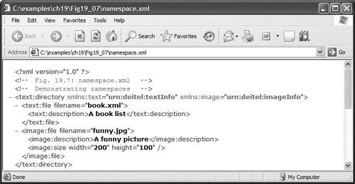 XML Namespaces | Extensible Markup Language (XML)