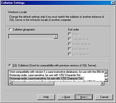 Collation | Inside Microsoft SQL Server 2000