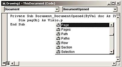 Using the Visio Type Library | Developing Microsoft Visio