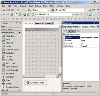 Event Handlers and Custom Events | Programming Microsoft Visual