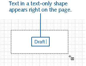 figure 4-2. to add text anywhere on a page, click the text tool, drag out a text block, and then type. the text wraps as you type according to the width of the text block you dragged.
