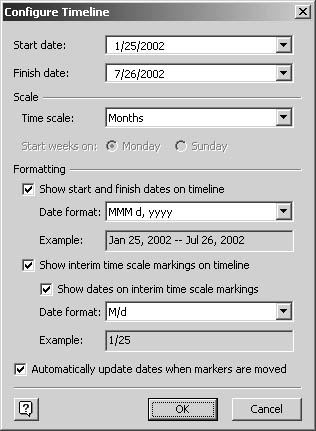 figure 12 3 when you drag a timeline shape onto the drawing page - Visio Timeline Shapes