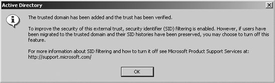 reestablish the trust relationship using windows 2000 server manager