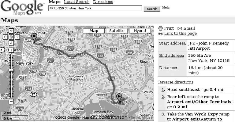 Hack 35  Load Driving Directions into Your GPS | On the Road