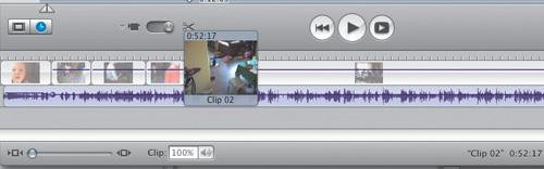 how to add text into imovie clip