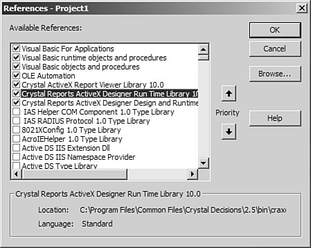 Programming with the Report Engine Object Model | Crystal