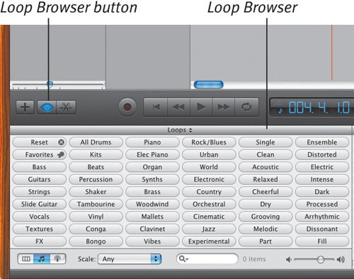 how to create a loop in garageband