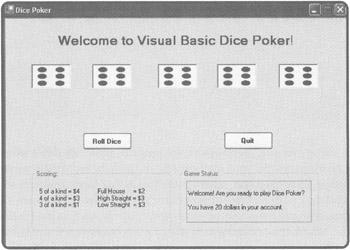 Vb6 poker