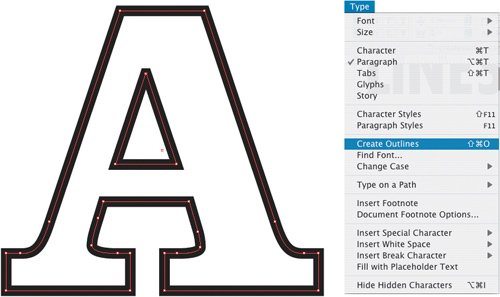 Custom Type with Create Outlines | Type Effects