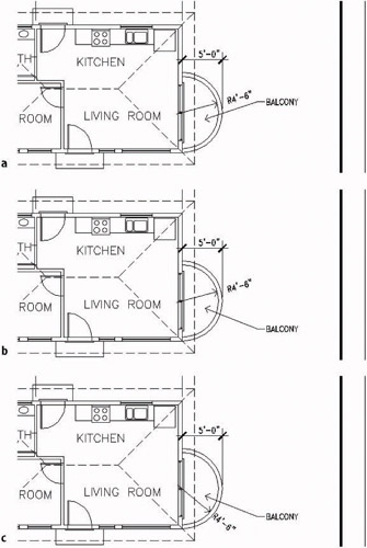 Dimensioning a drawing introduction for Balcony dimensions