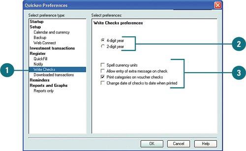 Setting Quicken Preferences | Quicken 2007 On Demand