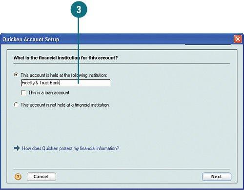 Adding New Accounts Quicken 2007 On Demand
