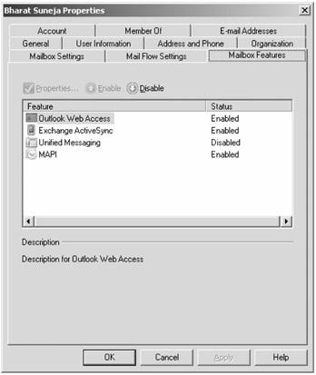 Managing Mailboxes   Mastering Microsoft Exchange Server 2007 SP1