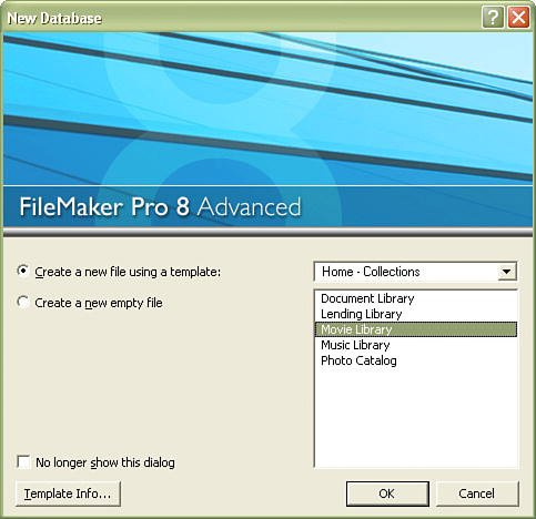 filemaker pro 12 templates - working in filemaker pro special edition using filemaker 8