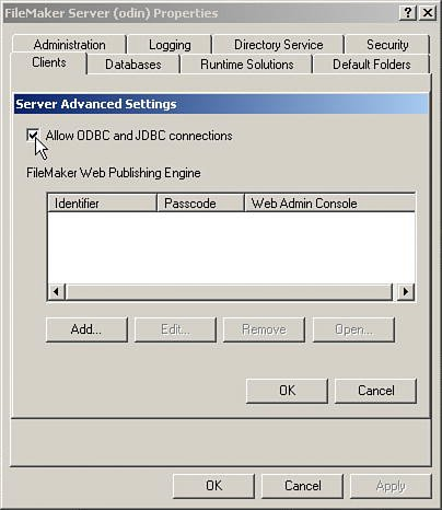 Accessing FileMaker Data Using ODBC and JDBC   Exporting
