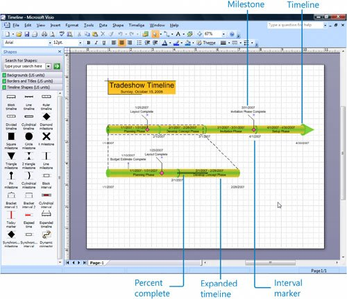 Creating Timelines to View Projects at a Glance - Microsoft Office ...