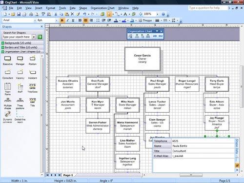 microsoft org chart - Chart