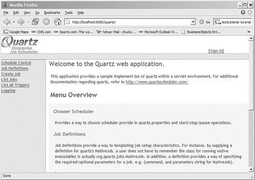 Introducing the Quartz Web Application | Quartz and Web