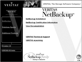a netbackup server or enterprise server license key is needed for installation to continue.