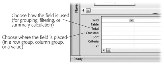 Section 9 2  Creating Crosstab Queries | Access 2007[c] The