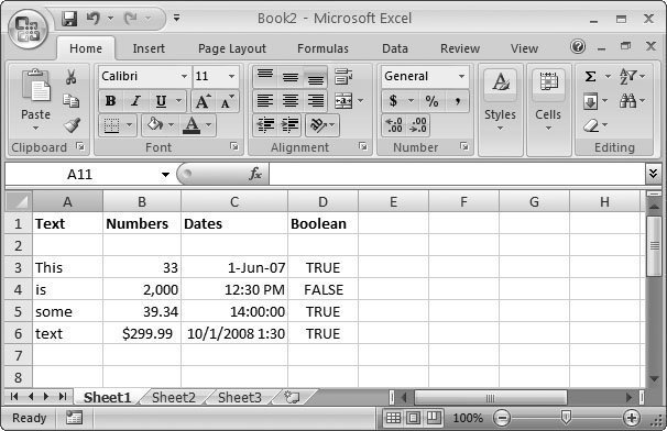 excel how to change text in cell to capitals