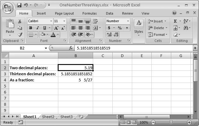 Section 5 1  Formatting Cell Values | Excel 2007[c] The