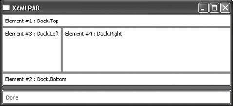 Section 4 1  StackPanel and DockPanel | XAML in a Nutshell