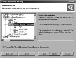 Installing Crystal Reports for Visual Basic | Mastering