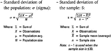 A More Technical Definition Describes The Standard Deviation As The Square  Root Of The Average Of The Squared Deviations Of The Observations From The  Mean