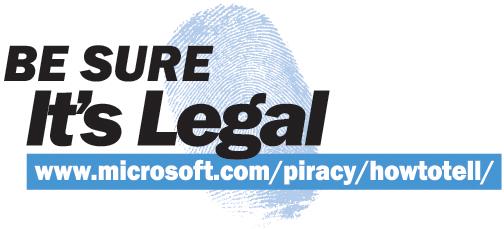 figure 2.2 one of microsoft's anti-piracy logos.