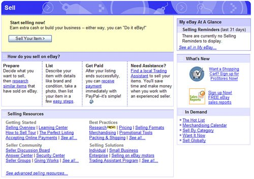 Getting Started Creating An Item Listing Absolute Beginners Guide To Ebay 4th Edition