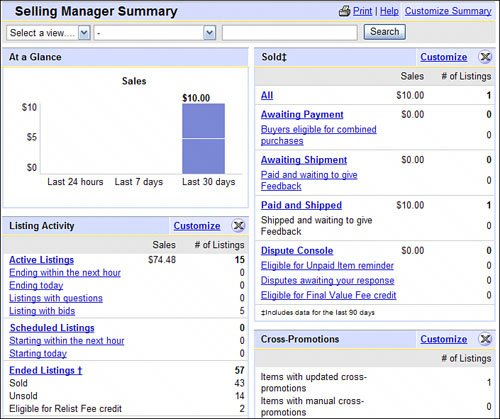 Introducing Ebay Selling Manager And Selling Manager Pro Absolute Beginners Guide To Ebay 4th Edition