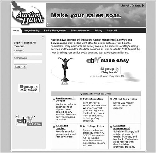 Popular Auction Management Tools Making A Living From Your Ebay Business 2nd Edition