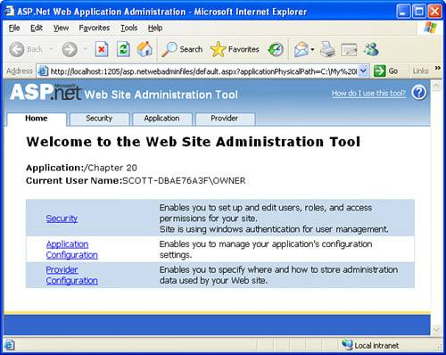 An Overview of User Accounts in ASP NET | Sams Teach