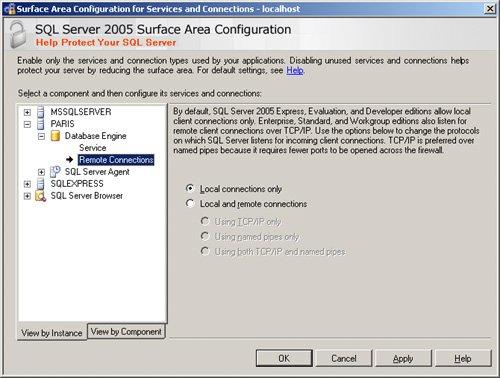 оснастка управления sql server