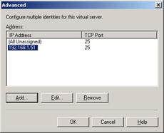 Core SMTP Administration | Microsoft IIS 6 0Administrator's