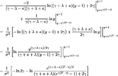 Riccati equation general solution