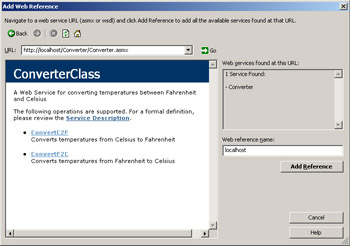 Using the Web Service from Code | Microsoft Visual C++  NET