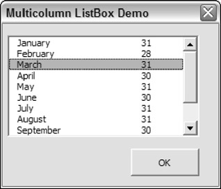 ListBox Techniques | Excel 2007 Power Programming with VBA