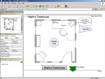 Exporting Visio Diagrams For Use On The Web Microsoft Office Visio 2003 Inside Out Inside Out Microsoft