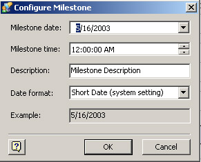 away from the timeline visio snaps the milestone to the timeline shape displays the configure milestone dialog box and sets the milestone date based - Visio Timeline Shapes