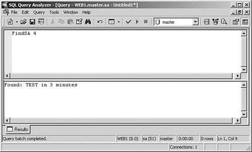 sql query analyzer 8.00.194