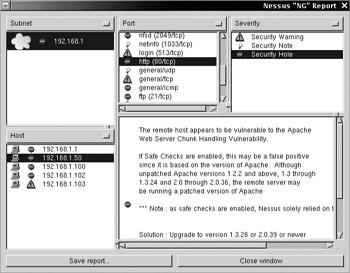 Nessus   Anti-Hacker Tool Kit, Third Edition