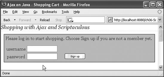 Section 6 4  Drag n Drop with Scriptaculous and Prototype | Ajax on Java