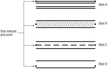 Drawing Parallel Lines Mastering Autocad 2005 And Autocad Lt 2005