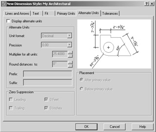 Creating a Dimension Style | Mastering AutoCAD 2005 and