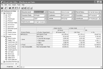 Chapter 19: Reporting from OLAP Cubes - Crystal Reports 10: The ...