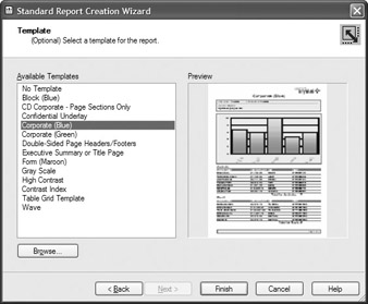 crystal reports templates crystal reports 10 the complete reference